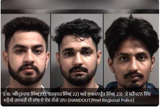 Trafficking of minor in Brampton